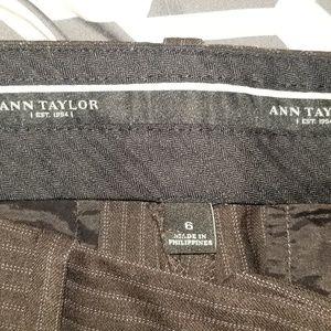 Ann Taylor brown work pants
